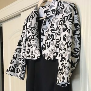 Women's Tahari Dress and cropped jacket